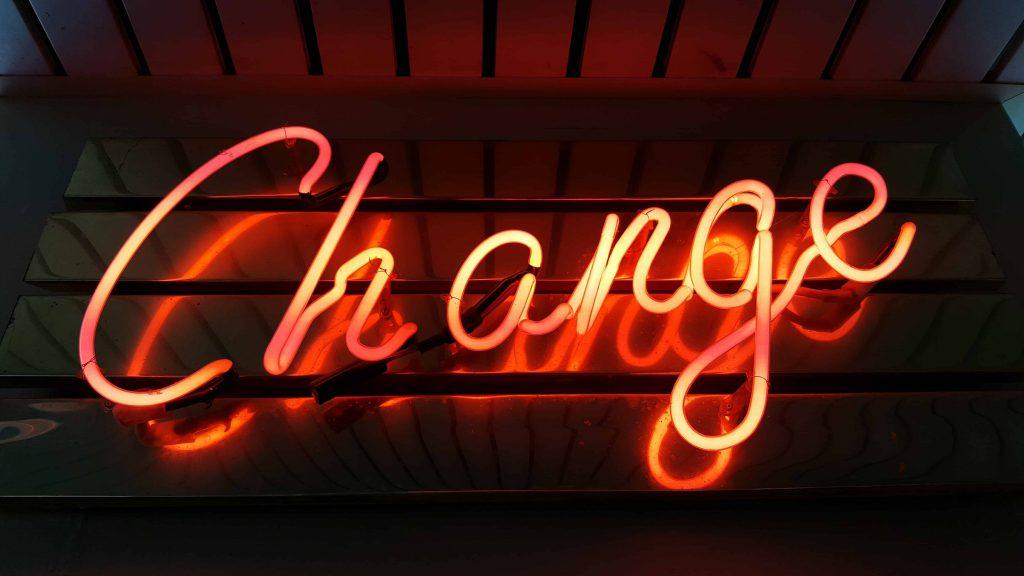 Verändere dein Leben.